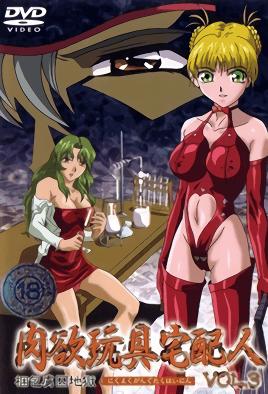 Nikuyoku Gangu Takuhainin 3 dvd blu-ray video cover art